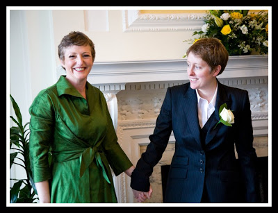 An example of our natural style of civil partnership photography.