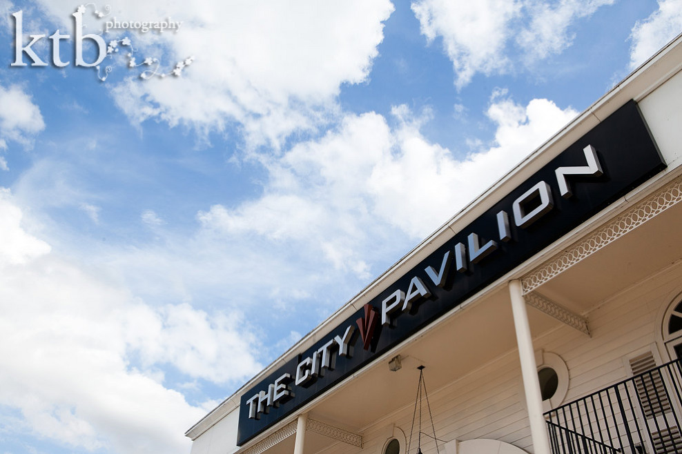 City Pavilion wedding photographer