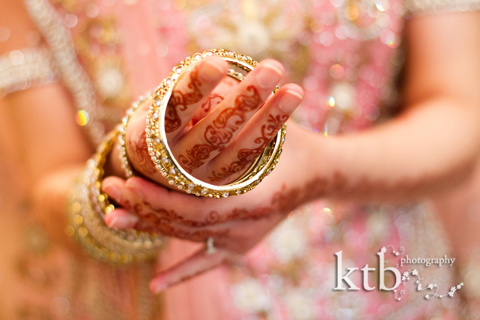 Female Asian wedding picture